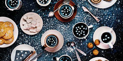 Circle, Space, Illustration, Finger food, Kitchen utensil,