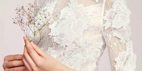 Hairstyle, Sleeve, Shoulder, Textile, Dress, Eyelash, Style, Jewellery, Petal, Fashion,
