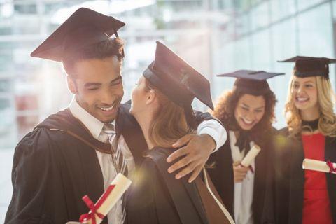 Face, Smile, Academic dress, Event, Scholar, Mortarboard, Graduation, Happy, Facial expression, Headgear,
