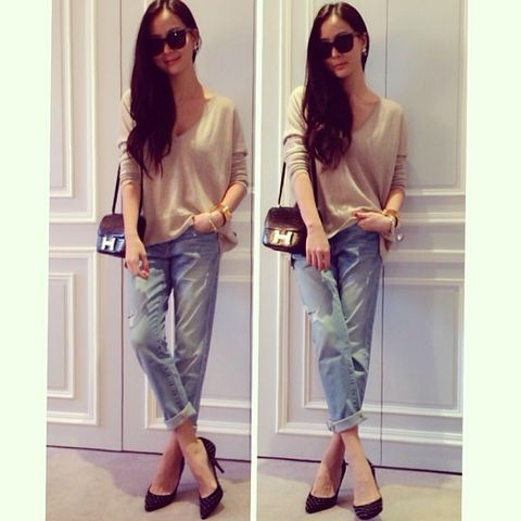 Clothing, Eyewear, Vision care, Product, Brown, Shoulder, Textile, Sunglasses, Denim, Outerwear,