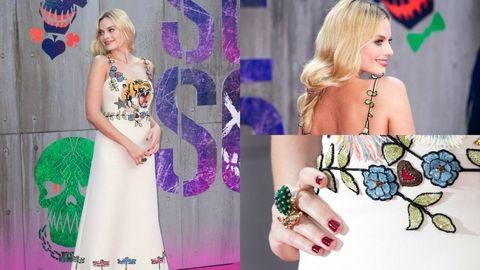 Human, Finger, Dress, Style, Nail, Purple, Fashion accessory, Pattern, Fashion, Lavender,