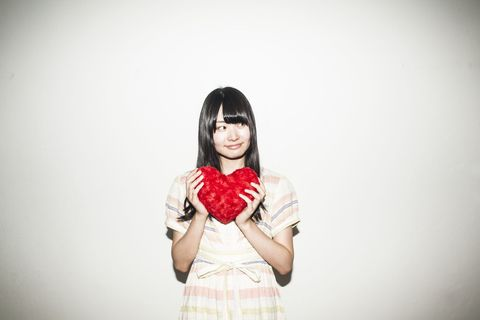 Pattern, Black hair, Flash photography, Costume, Bangs, Plaid, Long hair, Day dress, Portrait photography, Makeover,