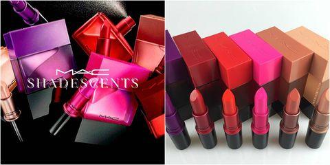 Red, Magenta, Pink, Purple, Carmine, Maroon, Material property, Rectangle, Plastic, Lipstick,