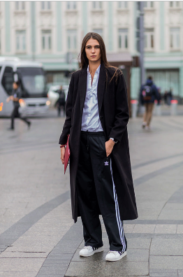 Sleeve, Textile, Photograph, Standing, Outerwear, Collar, Style, Street fashion, Coat, Formal wear,