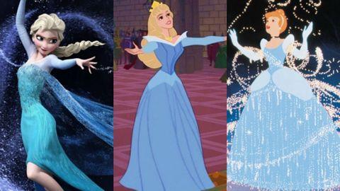 Blue, Dress, Gown, Costume design, Fashion, Formal wear, Victorian fashion, Event, Style, Dancer,