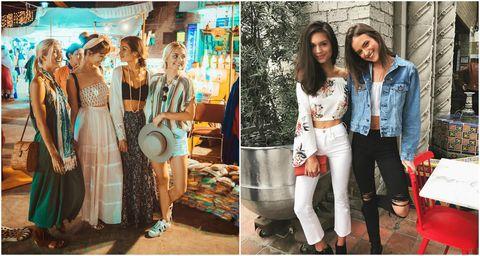 Trousers, Outerwear, Style, Fashion accessory, Dress, Bag, Fashion, Street fashion, Denim, Luggage and bags,