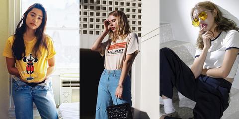 "<p>簡單的白T配上牛仔褲是COSMO Angel的go-to look,但是T恤根據剪裁、圖樣、顏色的不同,也能打造甜美、率性等不同的百變風格。以下5款衣櫃必備款,讓妳每天出門簡單就能打造時尚穿搭!  <span class=""redactor-invisible-space""></span></p>"
