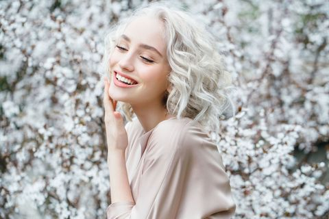 Hair, People in nature, Photograph, Face, Skin, Blond, Beauty, Lip, Hairstyle, Smile,
