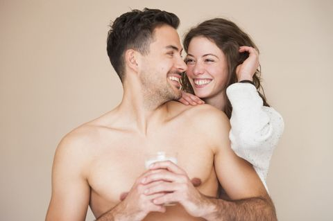Photograph, Facial expression, Skin, Cheek, Muscle, Interaction, Happy, Shoulder, Forehead, Fun,