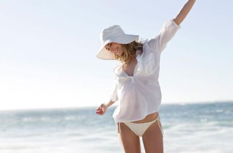 White, Shoulder, Skin, Fun, Vacation, Arm, Joint, Happy, Leg, Summer,