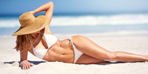 Bikini, Clothing, Sun tanning, Photograph, Swimwear, Model, Beauty, Photo shoot, Summer, Skin,