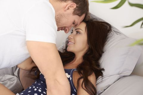 Comfort, Happy, Facial expression, People in nature, Interaction, Love, Romance, Honeymoon, Polka dot, Tooth,
