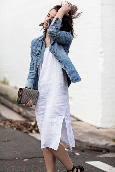 Clothing, Street fashion, Denim, Shoulder, Jeans, Fashion, Snapshot, Leg, Footwear, Outerwear,