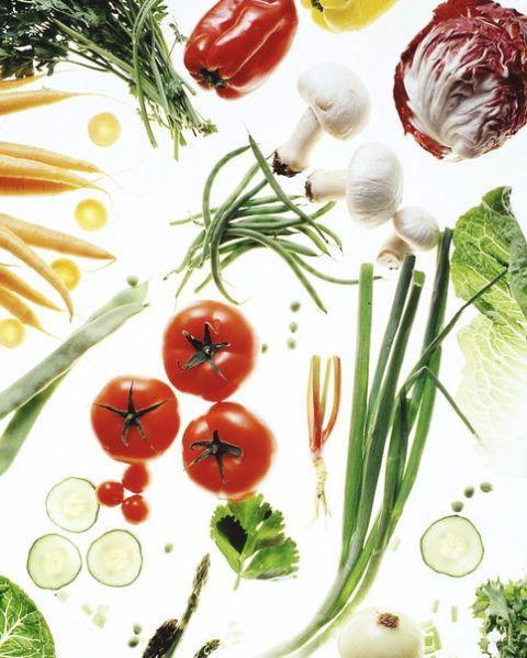 Vegetable, Plant, Natural foods, Botany, Food, Garnish, Vegetarian food, Flower, Chives, Ingredient,