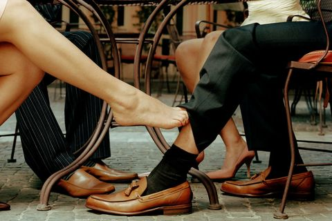 Leg, Sitting, Human leg, Footwear, Fashion, Human body, Photography, Thigh, Shoe, Black hair,