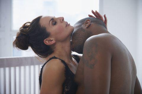 Skin, Shoulder, Beauty, Interaction, Neck, Eye, Lip, Joint, Love, Black hair,