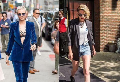 "<p>甜美系女孩已經不夠看了啦!在這個中性時尚當道的年代,帥氣又有個性的爺們式穿搭更擄獲人心,許多時尚品牌也跟隨這樣的風潮,模糊了男女時裝的界線,設計出男女都實穿的風格。而個性女星Kristen Stewart克莉絲汀史都華、Cara Delevingne<span class=""redactor-invisible-space"" data-redactor-tag=""span"" data-redactor-class=""redactor-invisible-space"" data-verified=""redactor"">卡拉迪樂芬妮正是以這樣帥氣又性感的中性穿搭為人熟知,每次出現在鎂光燈前都成為注目的焦點,快跟著COSMO Angel的腳步,看看這兩位個性女神是如何詮釋時尚態度的吧!</span><span class=""redactor-invisible-space"" data-verified=""redactor"" data-redactor-tag=""span"" data-redactor-class=""redactor-invisible-space""></span></p>"