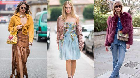 Clothing, Street fashion, Jeans, Fashion, Yellow, Footwear, Pink, Blazer, Denim, Dress,