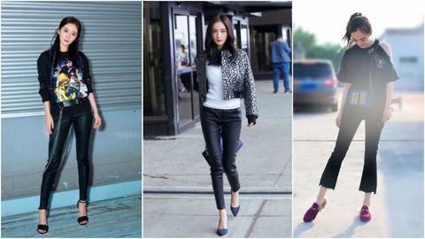 Jeans, Clothing, Denim, Fashion, Footwear, Leggings, Street fashion, Electric blue, Leg, Trousers,