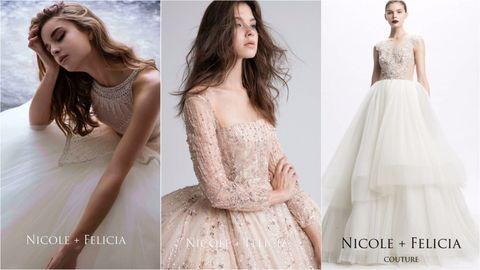 Clothing, Dress, Gown, Fashion model, Shoulder, Cocktail dress, A-line, Fashion, Wedding dress, Bridal party dress,