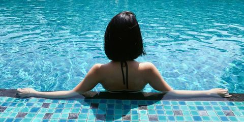 Swimming pool, Water, Leisure, Recreation, Summer, Vacation, Physical fitness, Fun, Games, Swimming,