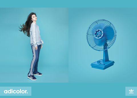 adidas Originals邀請范冰冰個性穿搭adicolor系列服裝-1