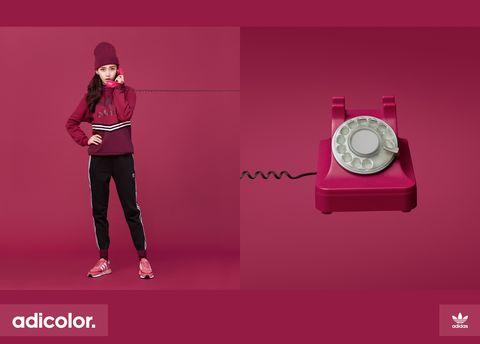 adidas Originals邀請Angelababy潮流演繹adicolor系列服裝-3
