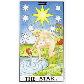 """<p>星星牌代表著智慧與心靈的融合,當妳<span class=""""redactor-invisible-space""""></span>選到這張牌時表示妳並不是只是要找個陪伴,而是渴望遇見心靈相通的對象,而與藝文相關的活動或是參與身心靈的課程,都可以讓妳把心打開,並容易遇見那個頻率對的人,而這張牌也在告訴妳,當妳遇見那個對象時,需要多花時間交流,因為很有可能也會出現遠距離戀情的跡象,因為星星也代表了距離或曖昧模糊的關係,有時雖然心靈感覺相通,但卻不知道兩人的關係算不算是交往,或許妳也可以問問自己是否準備好進入一段有承諾的關係了。<span class=""""redactor-invisible-space""""></span></p>"""