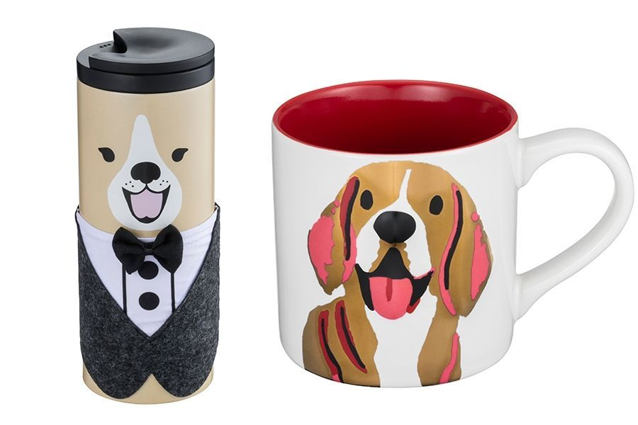 <p>其中的「狗年馬克杯」更是每年顧客持續收藏的生肖系列指標商品,商品設計上沿用喜氣的紅色搭配財源滾滾來了招財黃色。</p>