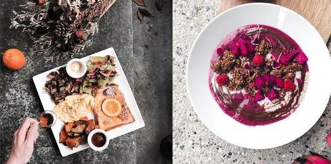 "<p>蔬食主義當道,許多人為了健康養身而將每個禮拜一訂定為「素食日」,也有越來越多年輕人聚餐時不再選擇大魚大肉,而是在優雅緩情的音樂聲中、享受繽紛而無負擔的可口蔬食,純白大理石中享用澎湃的蔬食早午餐、巴黎古堡風格中盡是蛋香與香料鼻息,連無肉不歡的顧客都一試成主顧的清爽風味,推薦給偶爾想讓身體喘息的妳。<span class=""redactor-invisible-space"" data-verified=""redactor"" data-redactor-tag=""span"" data-redactor-class=""redactor-invisible-space""></span></p>"