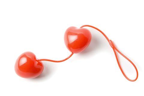Orange, Heart, Ear,