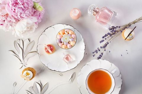 Teacup, Food, Saucer, Cup, Tableware, Cuisine, Dish, Still life photography, Cherry blossom, Porcelain,