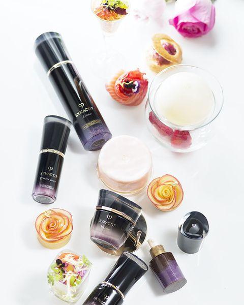 Product, Beauty, Cosmetics, Violet, Pink, Liquid, Material property, Lipstick, Nail polish, Lip gloss,
