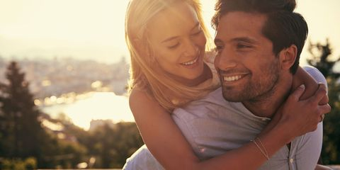 Photograph, People, Facial expression, Love, Smile, Forehead, Romance, Happy, Fun, Honeymoon,
