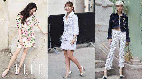 Clothing, White, Street fashion, Fashion, Outerwear, Footwear, Fashion model, Jacket, Snapshot, Blazer,