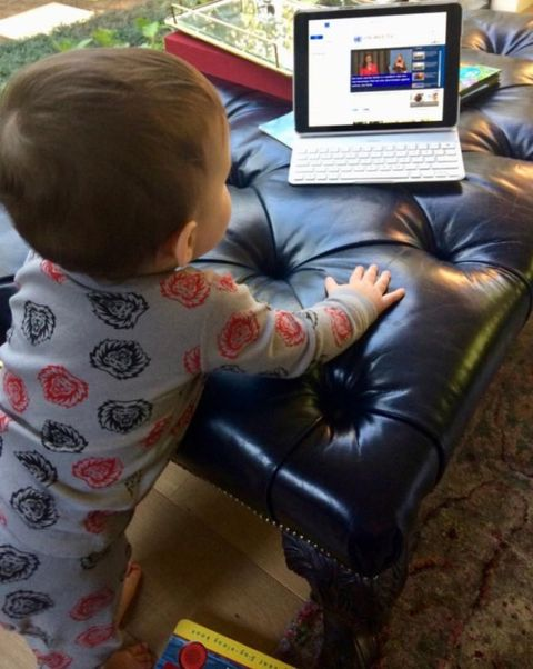 Child, Toddler, Play, Gadget, Electronic device, Technology, Electronics, Games, Baby, Gamer,