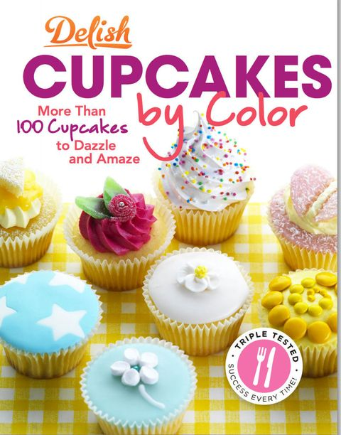 delish cupcakes by color cover