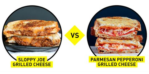 blogger battle grilled cheese