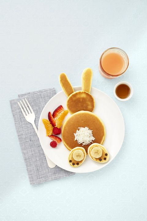 Hop to it: Whip up cute and tasty hotcakes quick as you-know-what