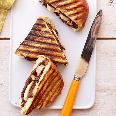 Brown, Food, Finger food, Baked goods, Plate, Tableware, Cuisine, Dish, Breakfast, Panini,
