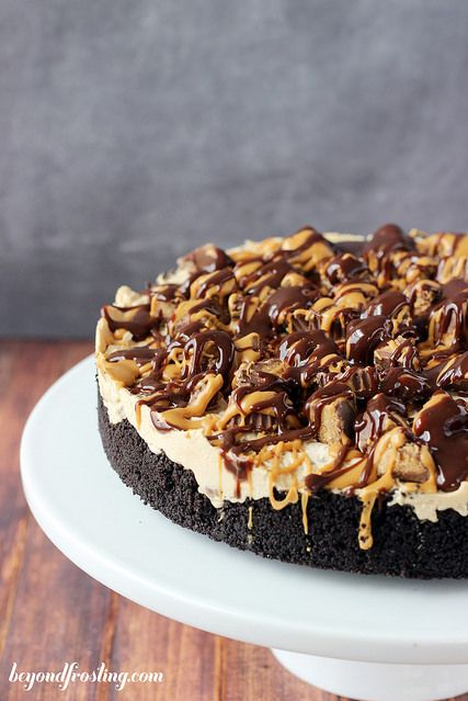 peanut butter cheesecake pie