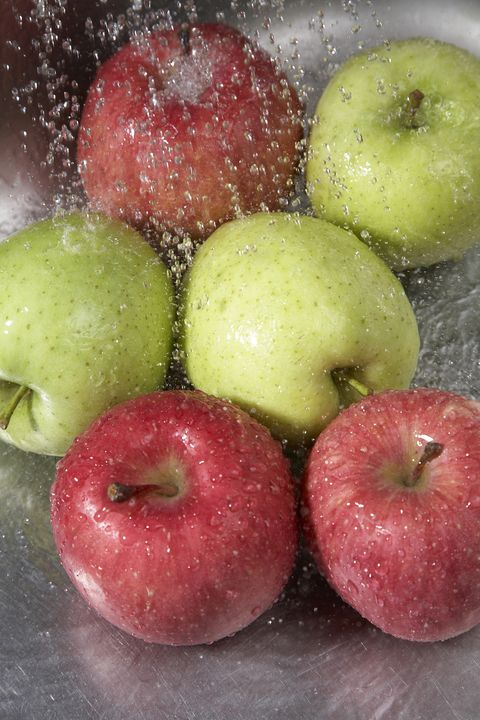 apples named most contaminated produce