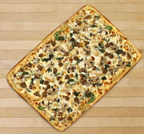Chuck E Cheese's Launches Grown-Up Menu - Alfredo Pizza