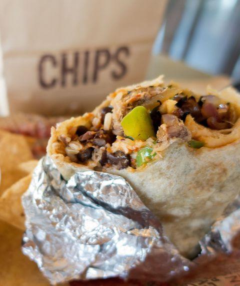 Chipotle Carnitas Burrito