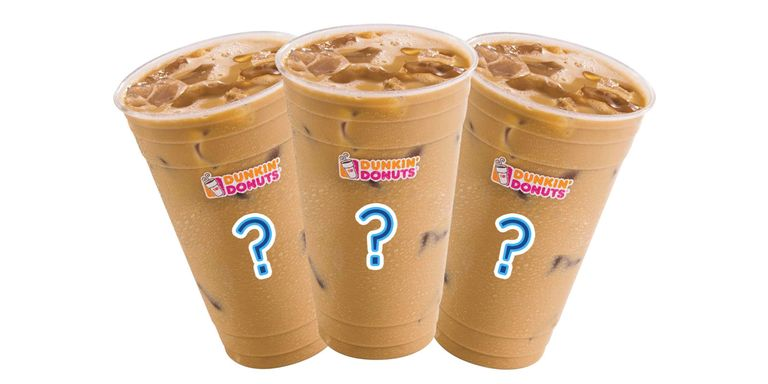 Dunkin Donuts Iced Coffee Flavors Ranked