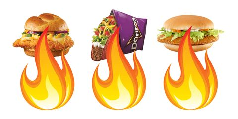 Spicy Fast Food Ranked By  Heat