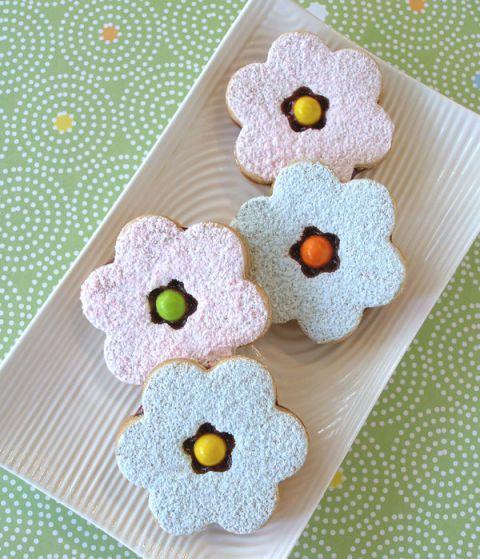Crafty Baking - Sarah Phillips - Linzer Blossom Cookies