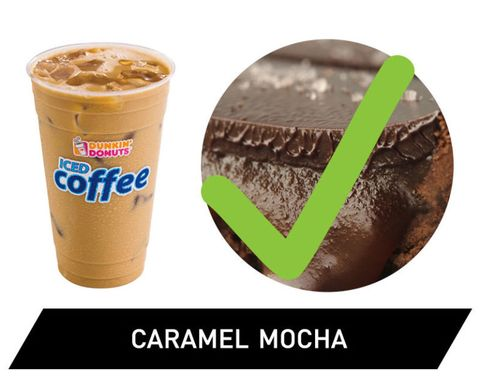 Nutrition Facts Dunkin Donuts Caramel Swirl Iced Coffee