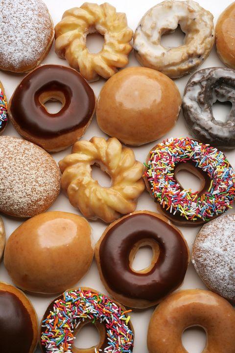 Food, Brown, Doughnut, Cuisine, Baked goods, Dessert, Finger food, Ingredient, Sweetness, Ciambella,