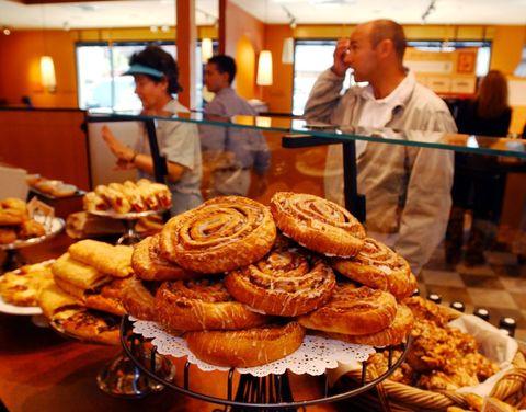 Panera Bread cinnamon rolls